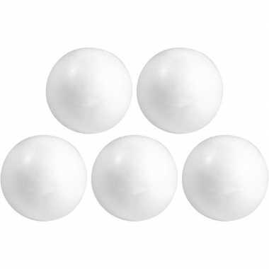 150x hobby/diy piepschuim bal/bol 3 cm