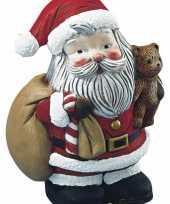 Knutselen piepschuim kerstman 17 5 cm